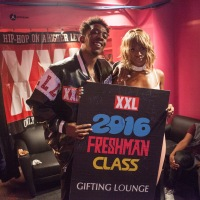 #ICYMI Behind-The-Scenes at the Pelle Pelle Gifting Suite at the XXL Freshmen Class Concert