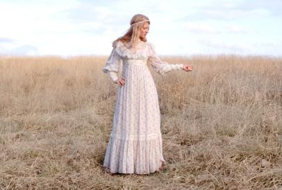 Vintage 70s Gunne Sax Prairie Dress