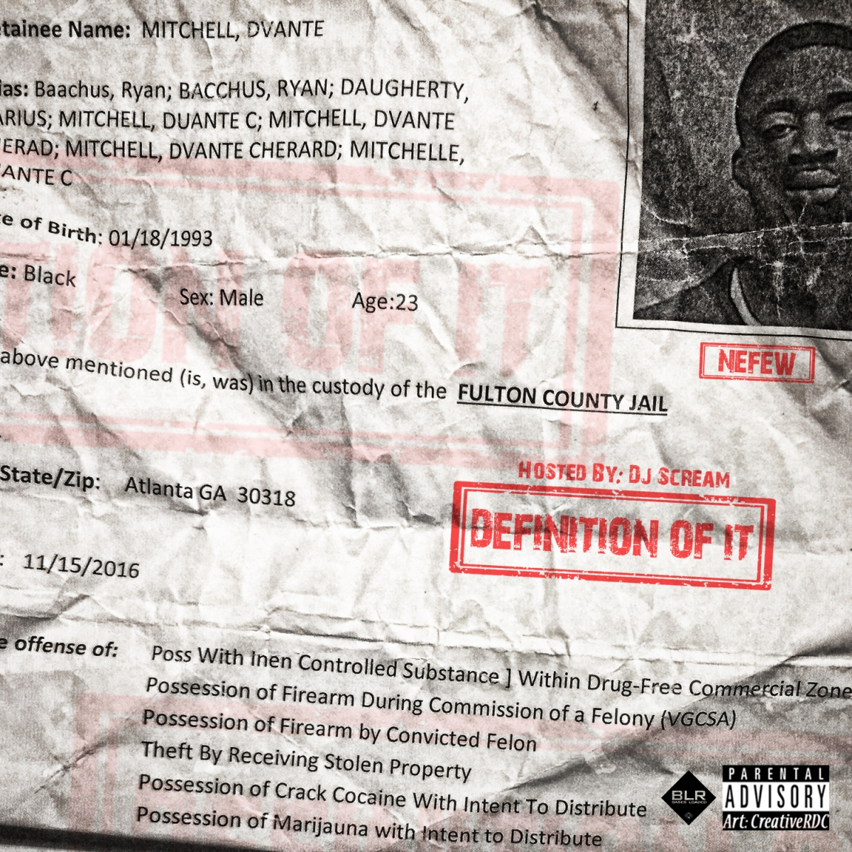 NEW EP: Nefew debuts 'Definition Of It' mixtape hosted by DJ Scream